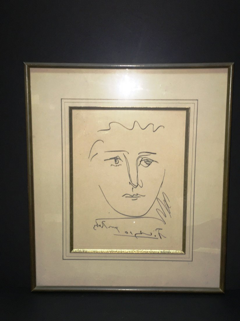 "PABLO PICASSO ""POOR ROBIE"" ETCHING"