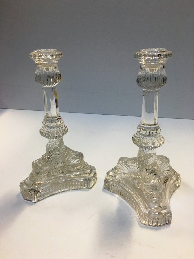 TIFFANY & CO FISH PR CANDLESTICKS