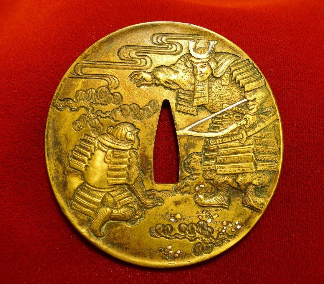 3:Antique Japanese Katana Tsuba