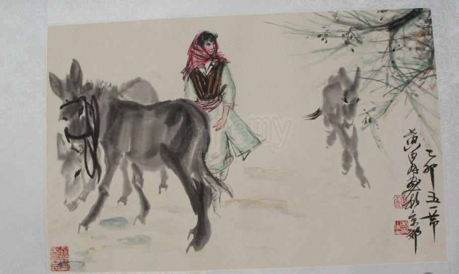 5: Chinese painting by Huang Zhou