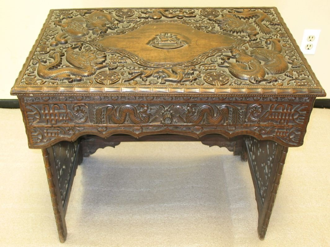 9: 18th Century Chinese style hardwood table