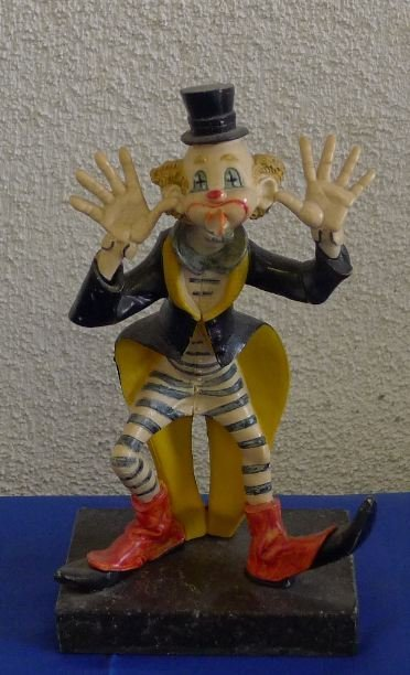 151 Vintage Italy Clown Sculpture Jun 16 2012 Jeremy