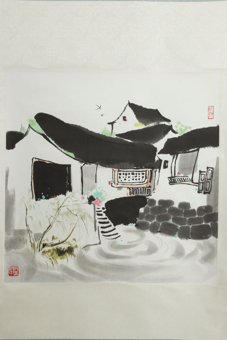 14: Chinese painting by Wu Guanzhong