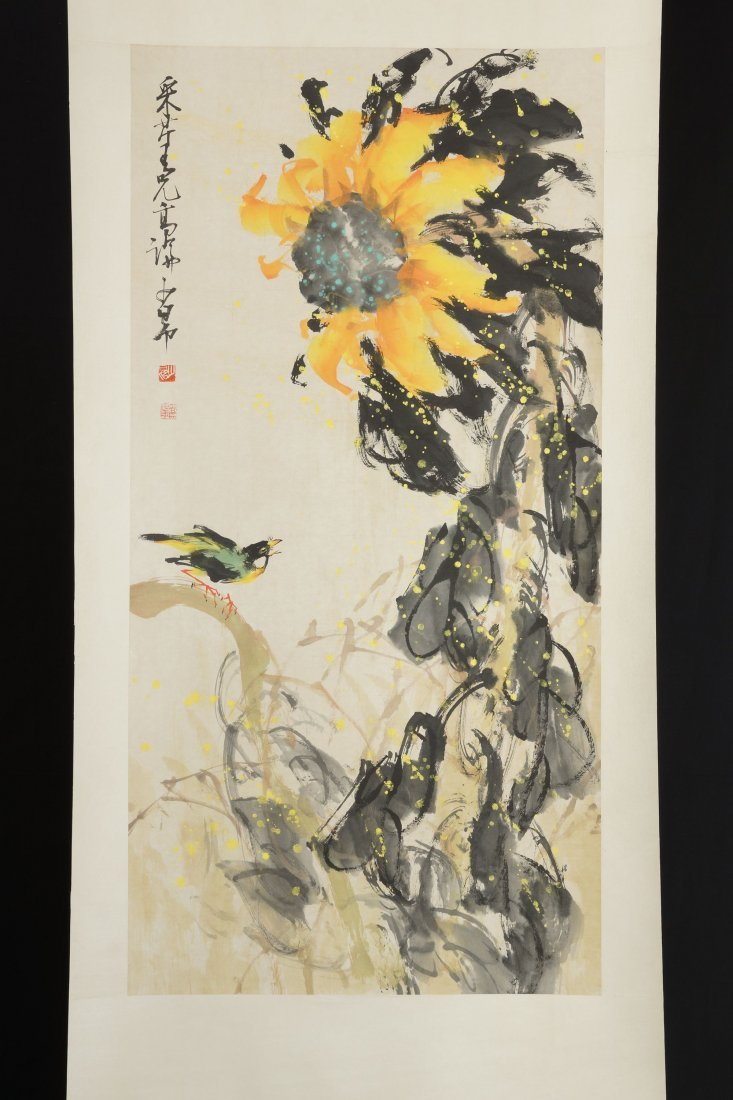 28: Chinese Painting by Chao Shao-an