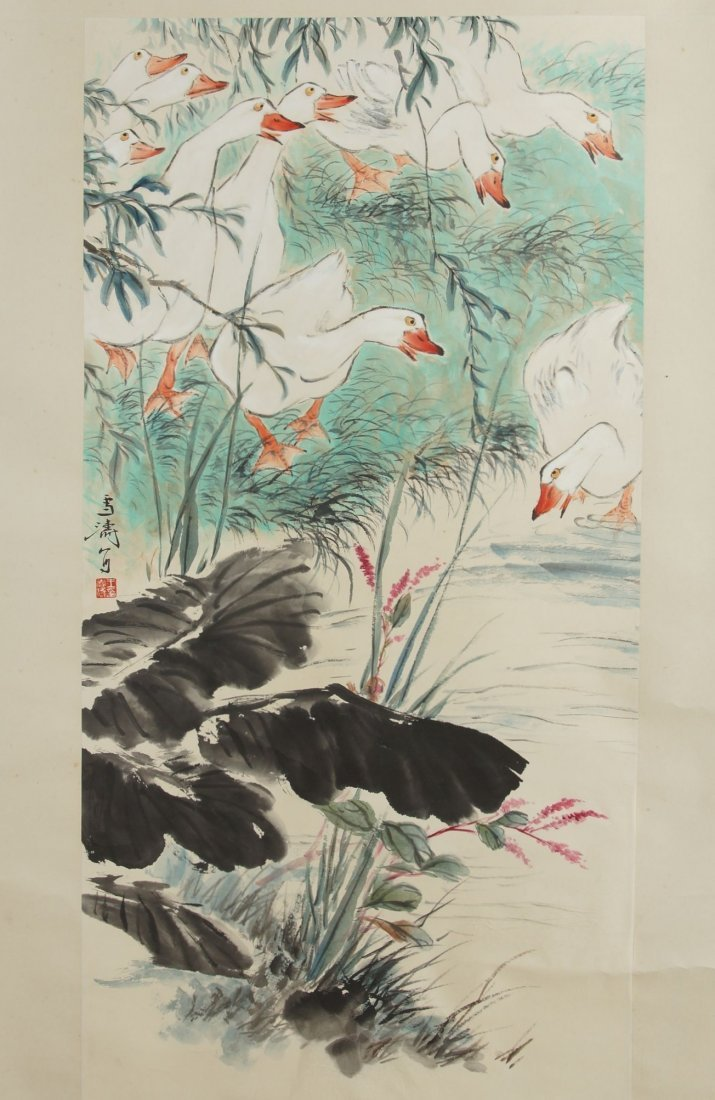 8: Chinese painting by Wang xuetao