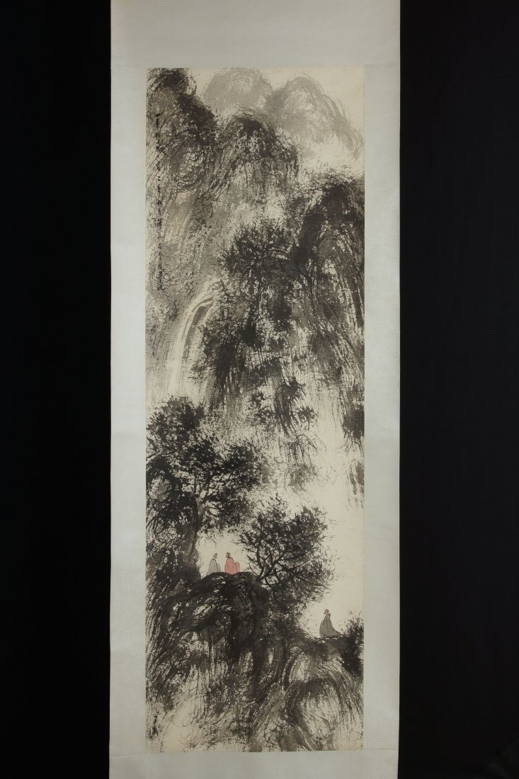 10: Chinese Painting by Fu Baoshi