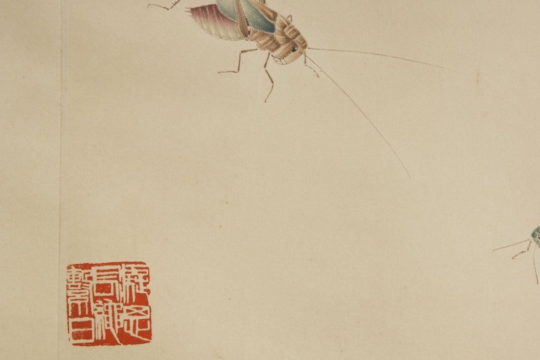 14: Chinese Scroll Painting by Qi Baishi - 3