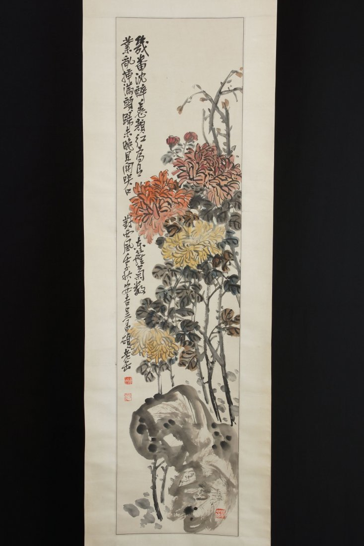 15: Chinese Scroll Painting