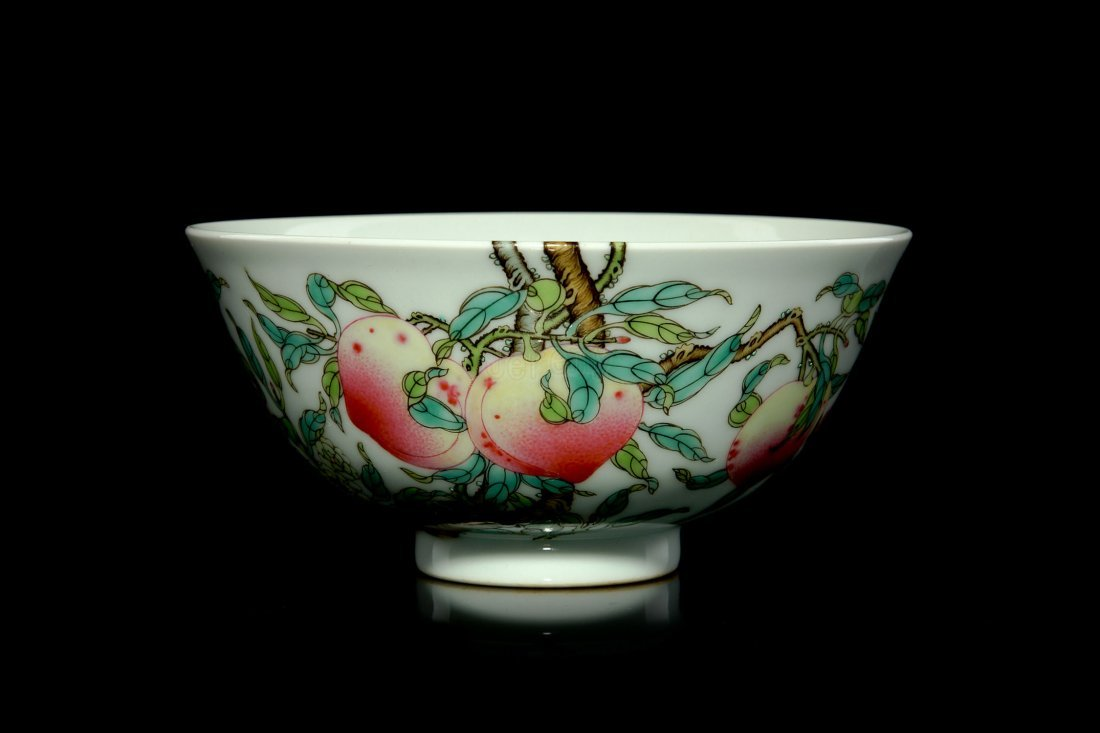 3: 18th C Chinese famille rose bowl