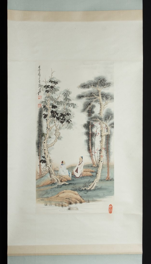 10: Chinese Scroll Painting