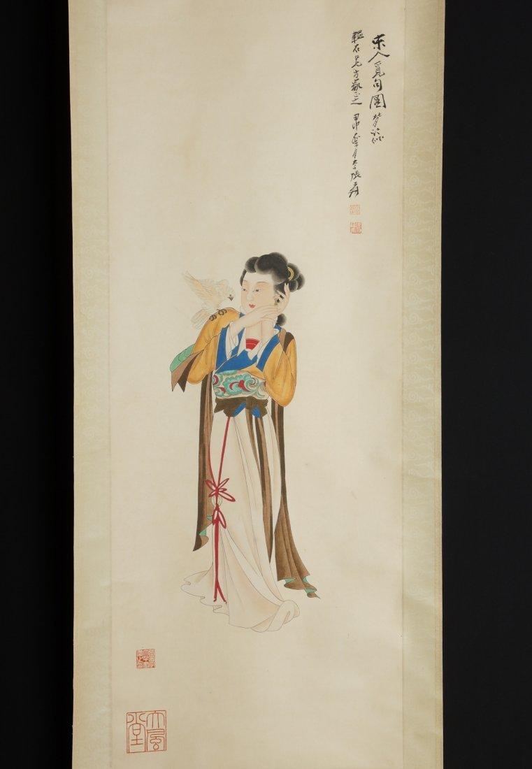 20: Chinese Scroll Painting