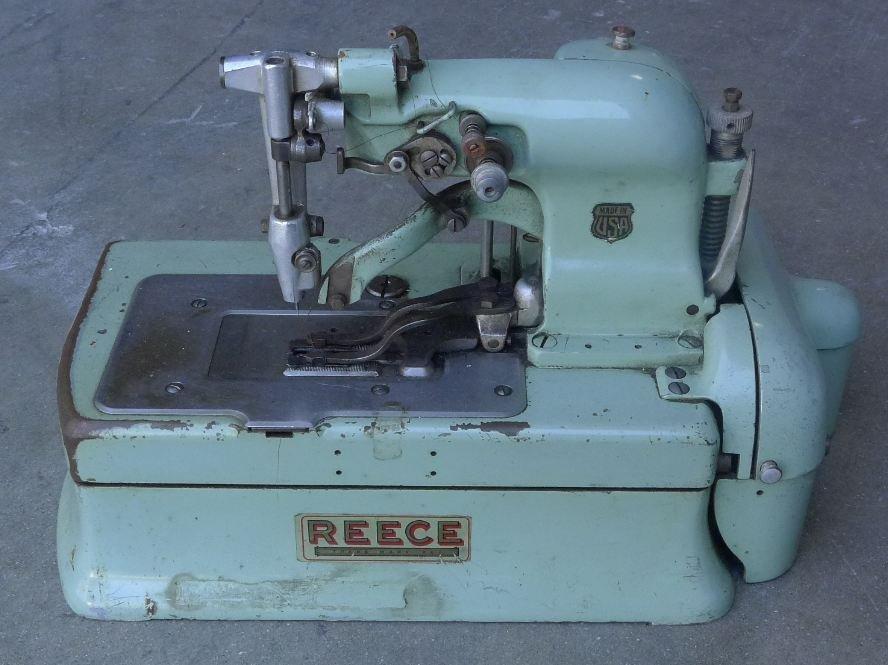 211: Antique Buttonhole REECE S2 Sewing machine