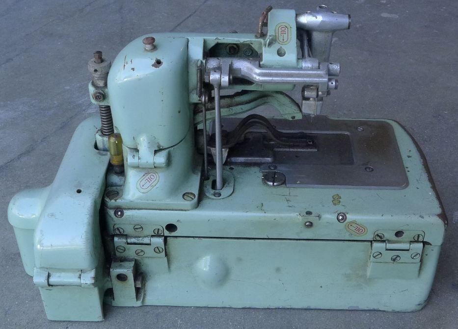 211: Antique Buttonhole REECE S2 Sewing machine - 2