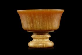 19th Century Horn Cup