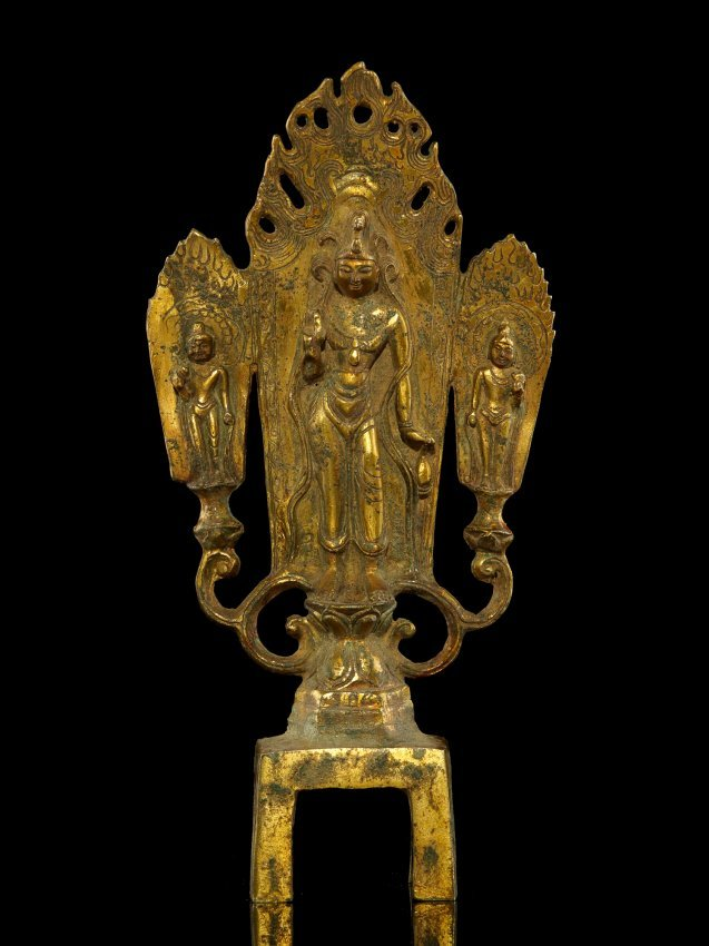 116: 17/18 Century Gilt Buddha