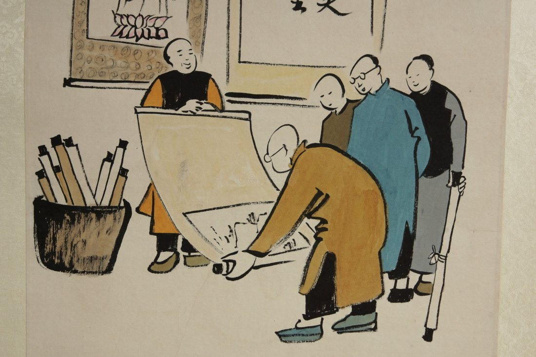 005: Chinese Painting  by Feng Zikai
