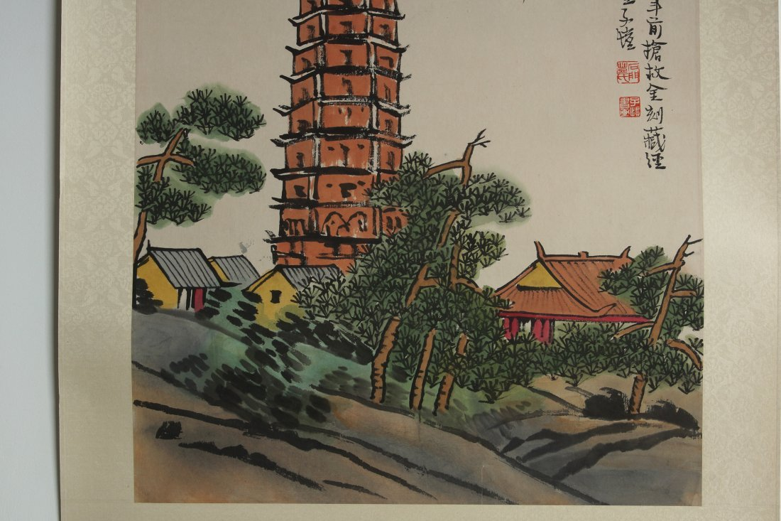006: Chinese Painting  by Feng Zikai