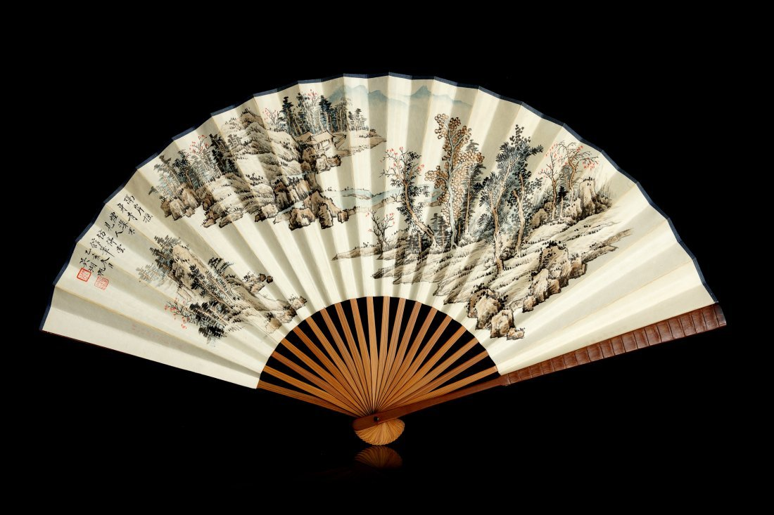 004: Chinese Painting of the Fan  by Wu Hufan