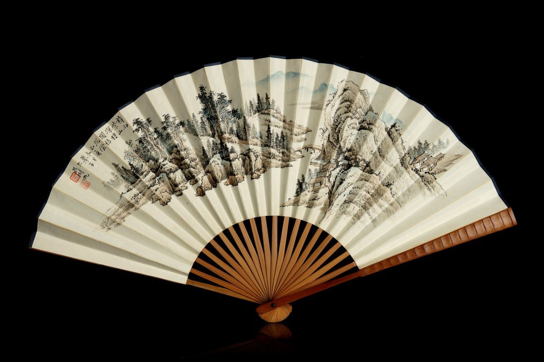 008: Chinese Painting of the Fan by Wu Hufan