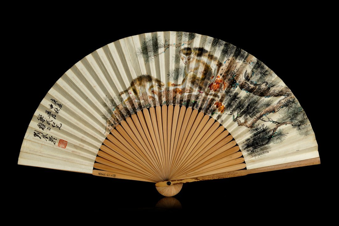 007: Chinese Painting of the Fan by Liu Kuiling
