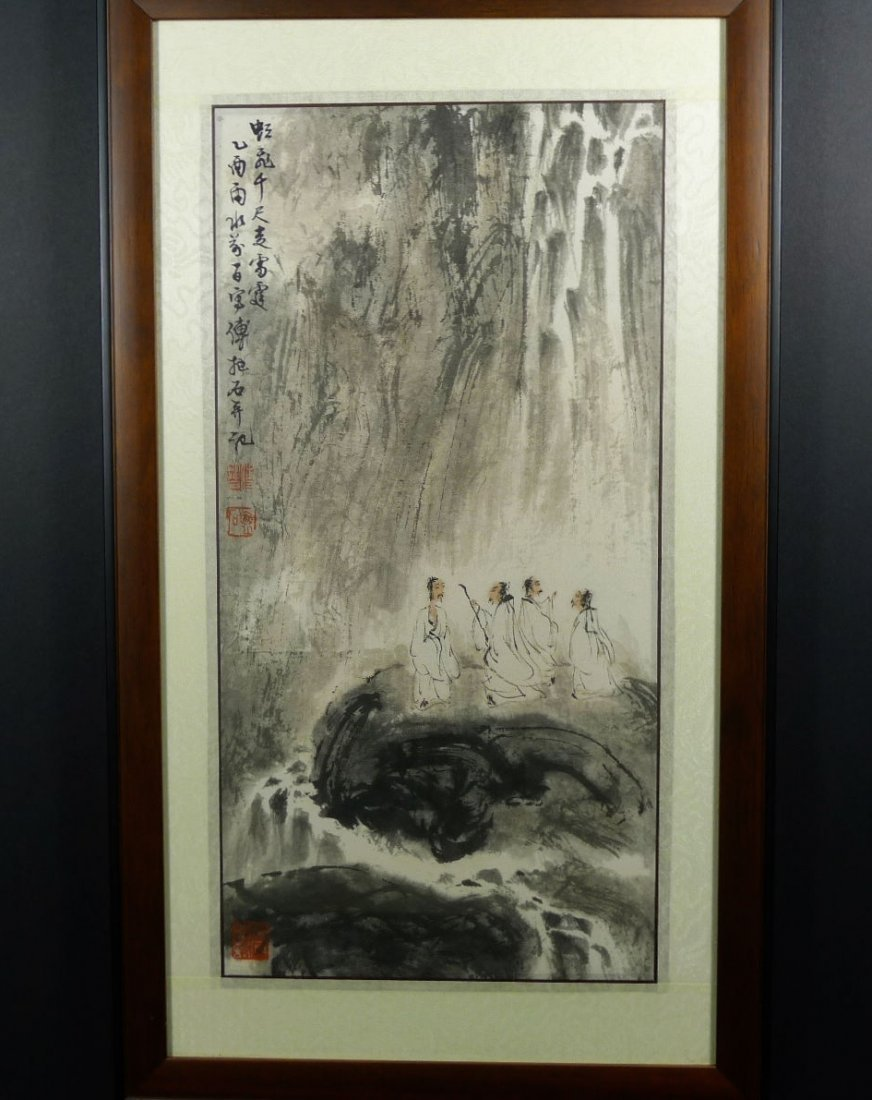 010: Chinese Painting by Fu Baoshi