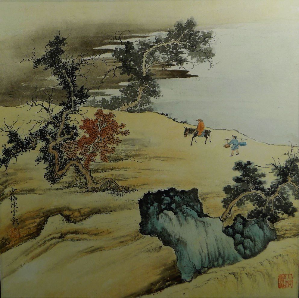 012: Chinese Painting by Chen Shaomei