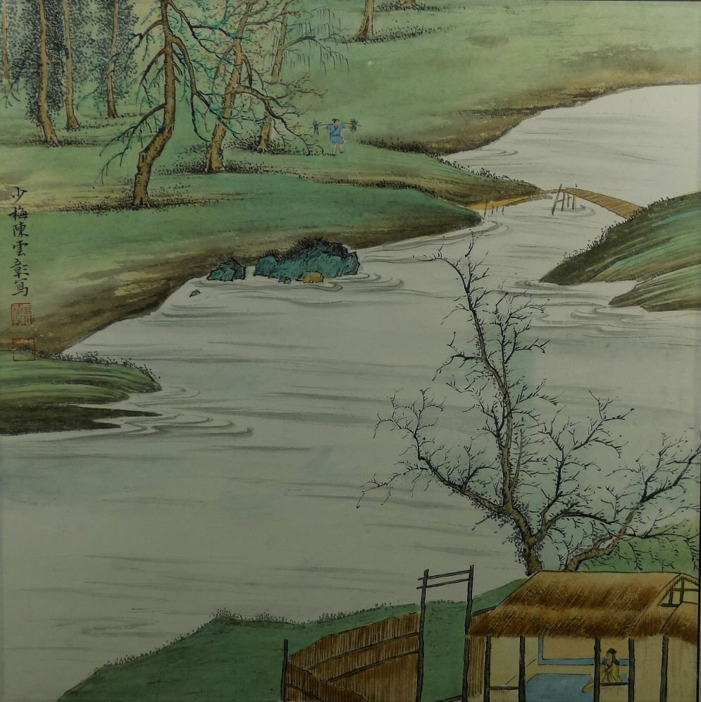 13: Chinese Painting by Chen Shaomei
