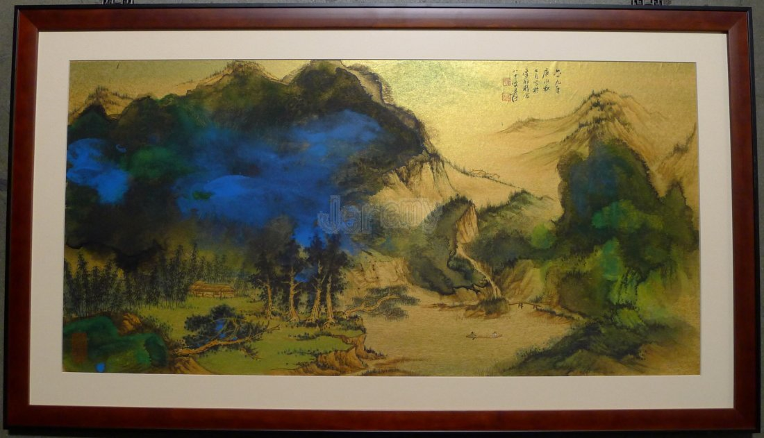 CHINESE PAINTING BY ZHANG DAQIAN