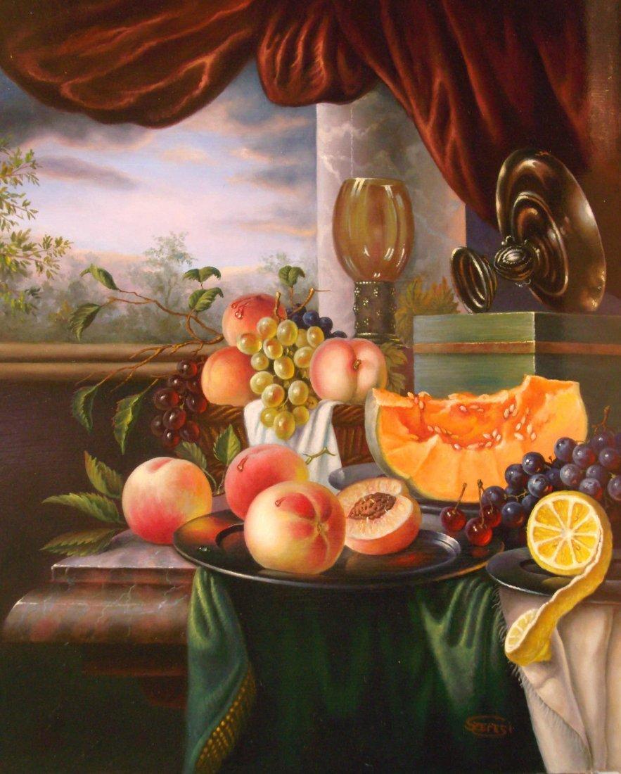 3: Andor Szepesi:Still Life with Peach