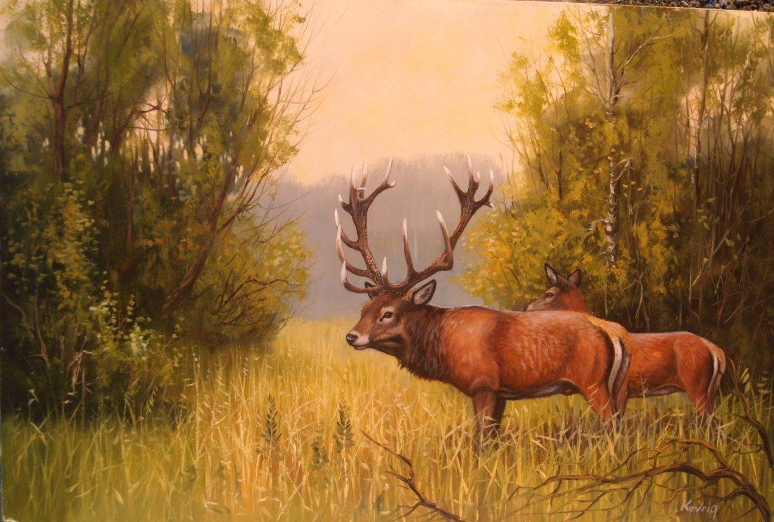 4: Miklos Kovrig: Old Deers
