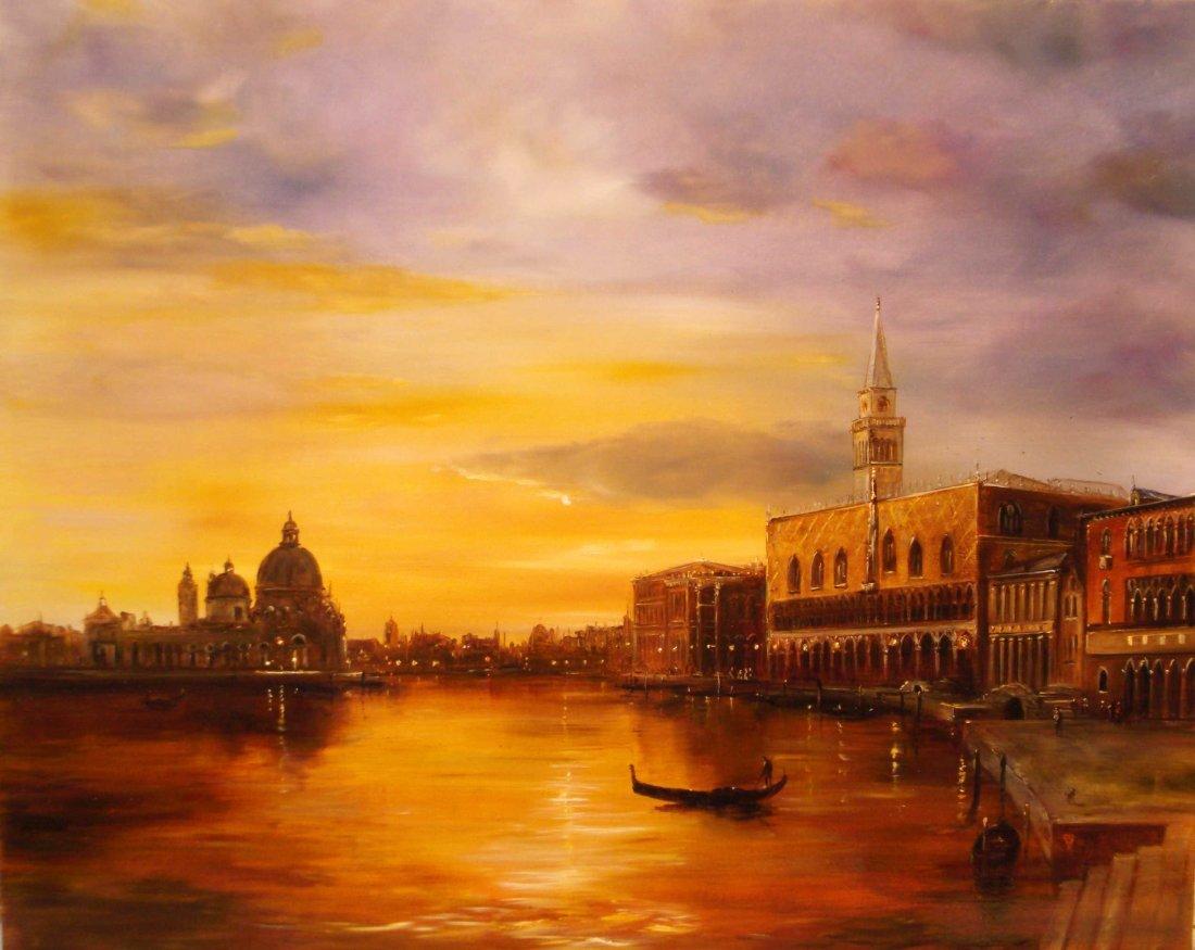 10: Ferenc Tiszavolgyi:Venice at Night