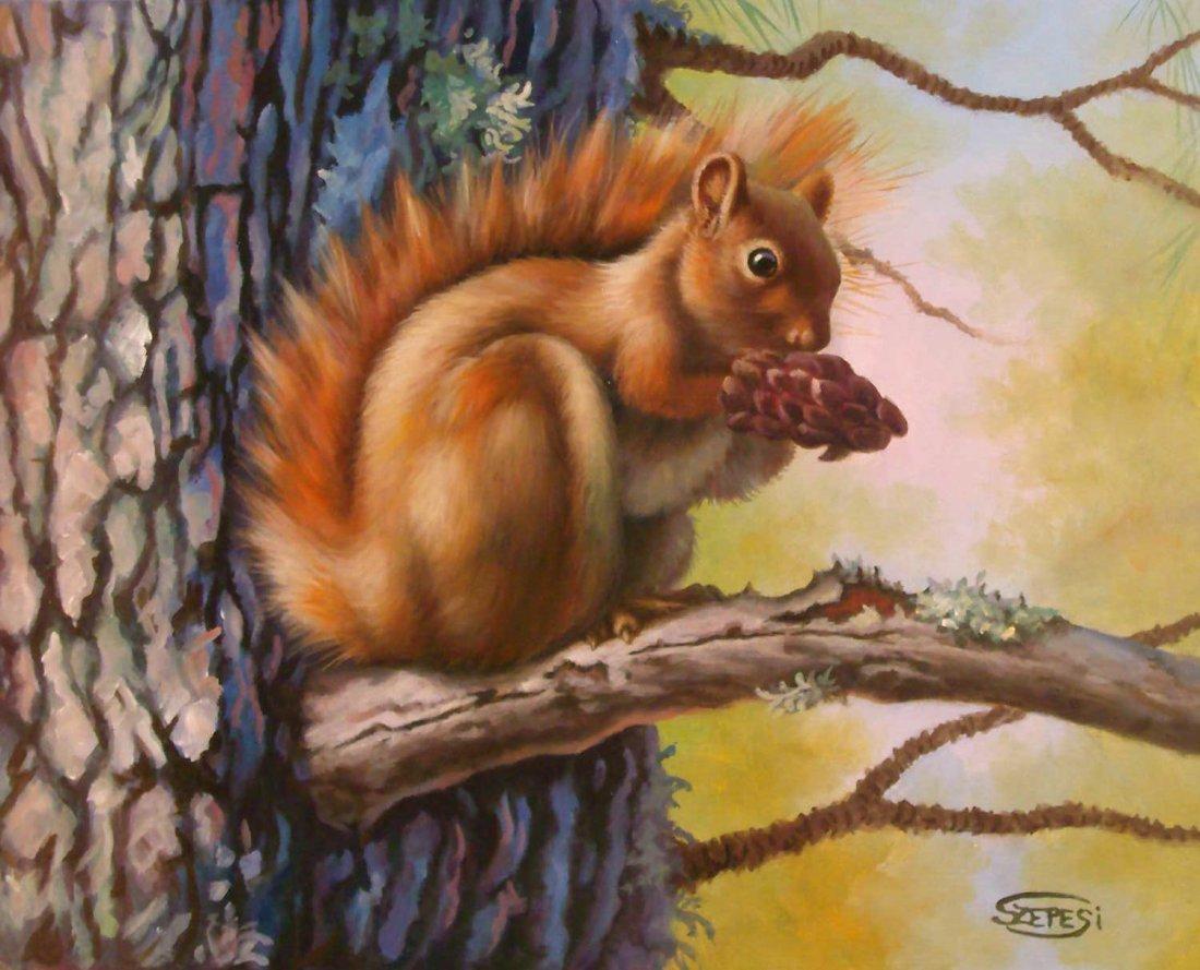 14: Andor Szepesi: Squirrel