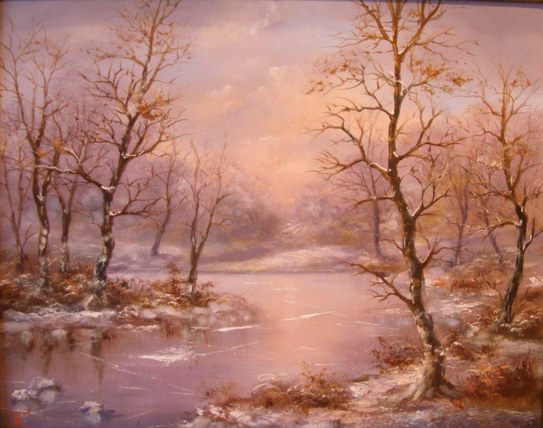16: Tamas Mehesz: Winter Forest
