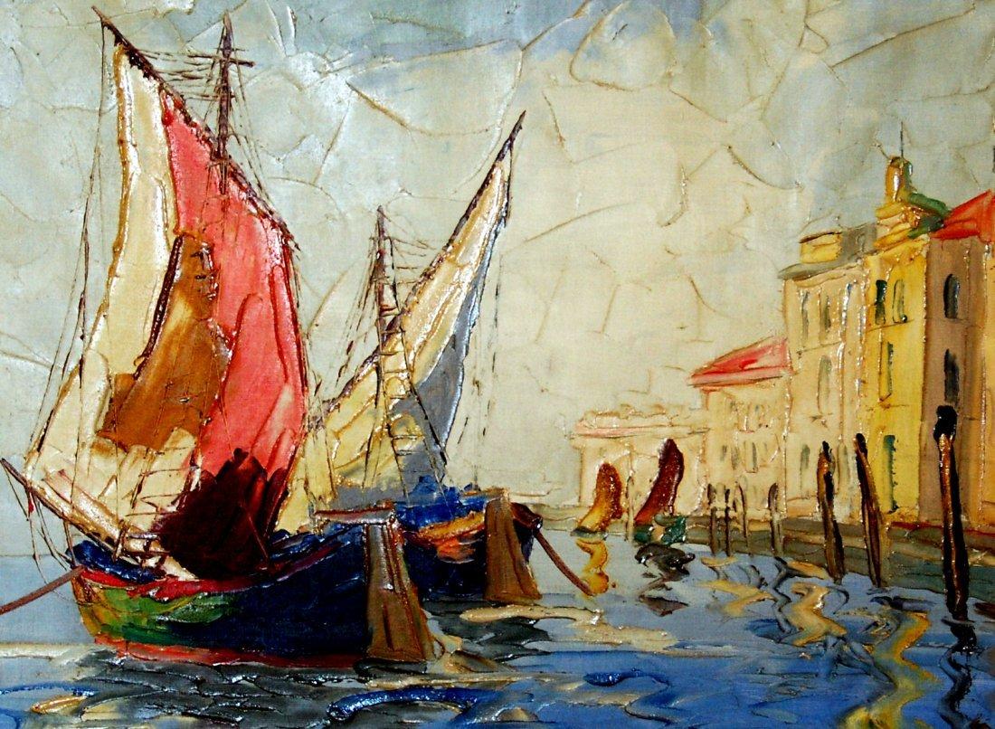 76: Z. Rime L. (Painted 1930-1940): Harbor