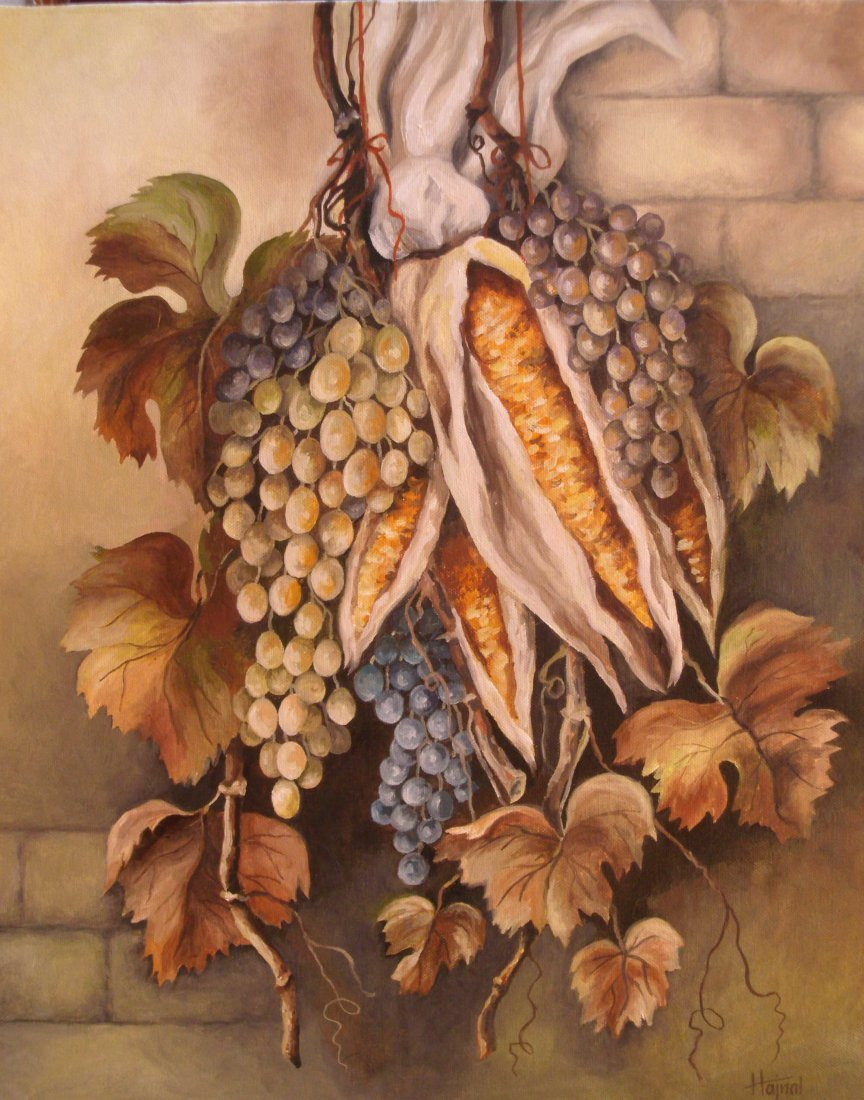 6: Eva Hajnal:Still Life with Grapes