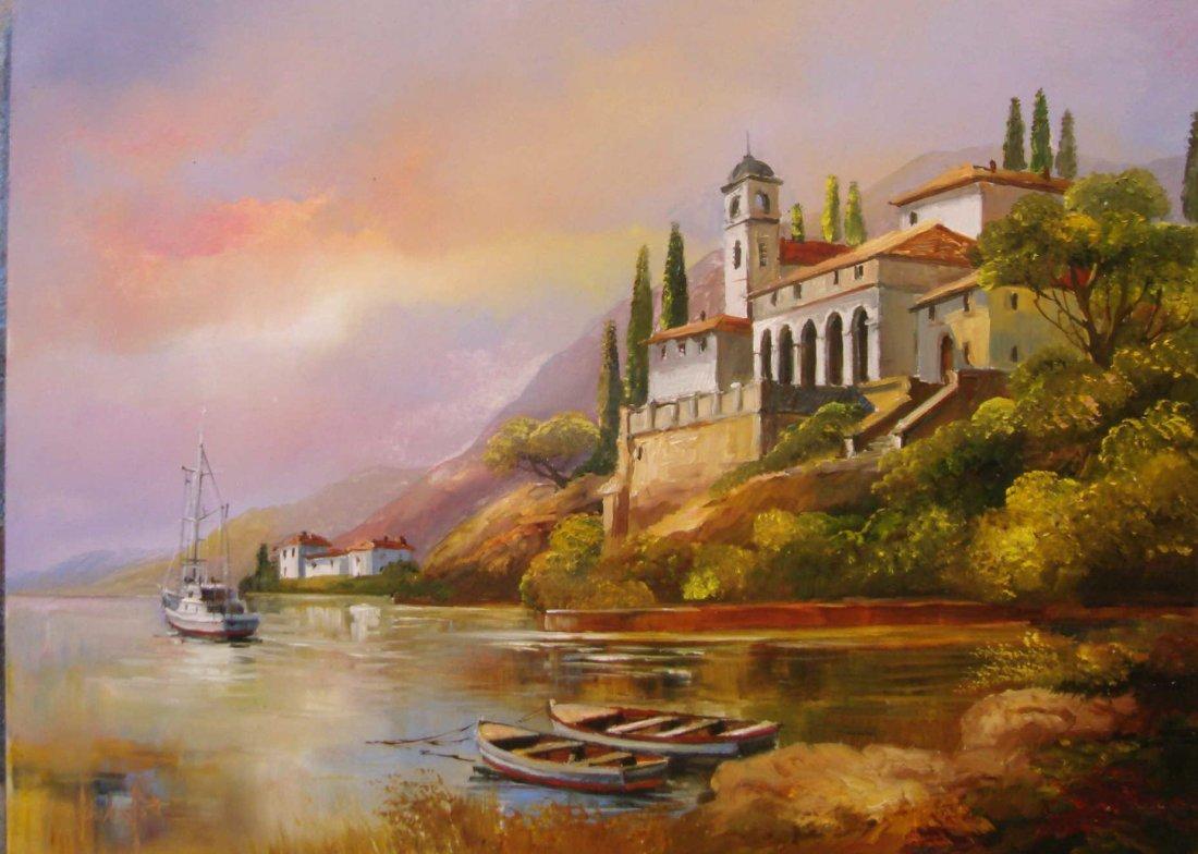 21: Zsolt Fekete: Mediterranean Landscape