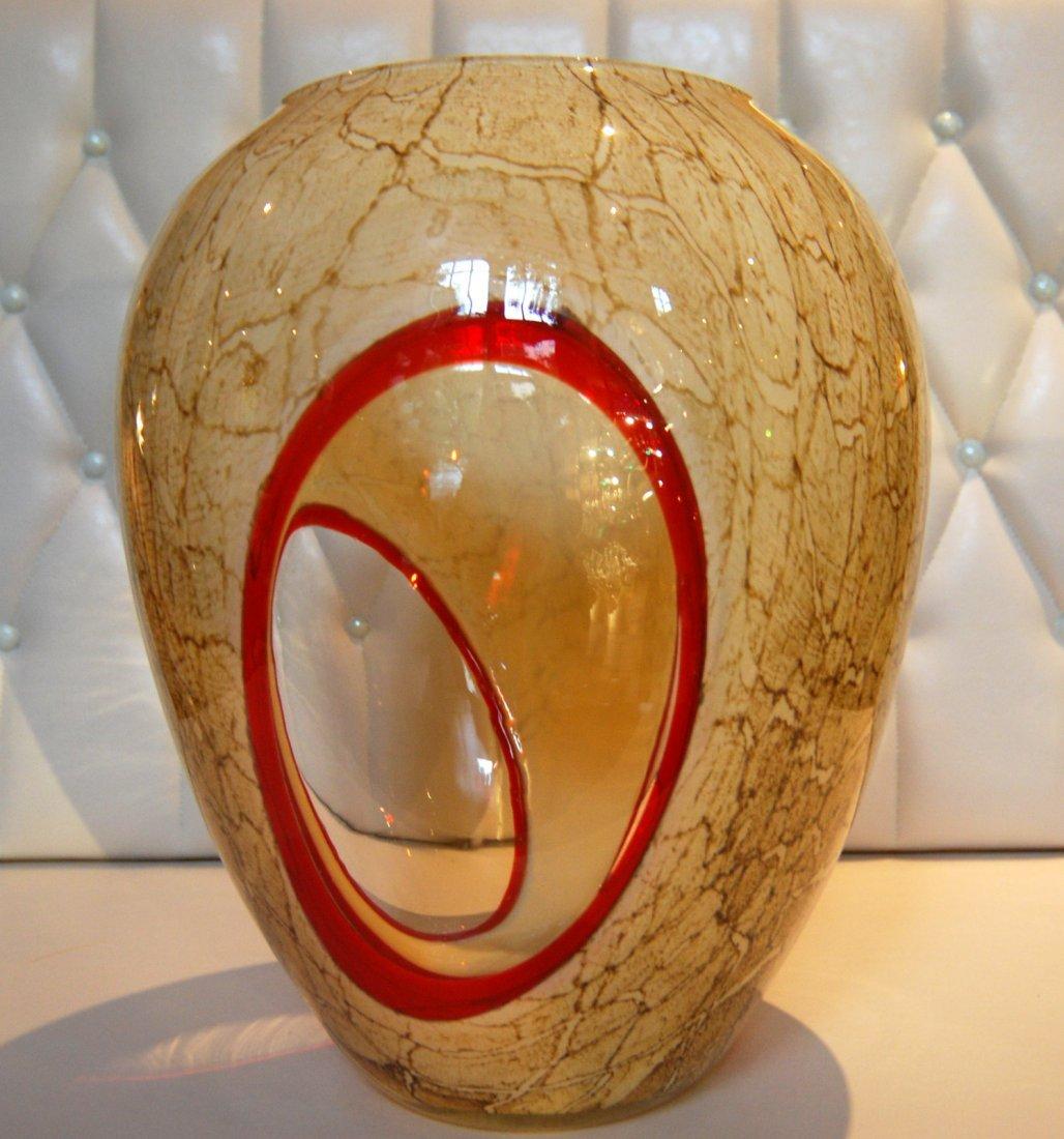 1: Large Murano Vase
