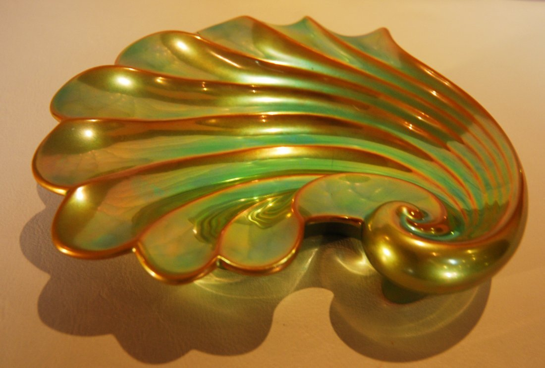 4: Zsolnay clam shell