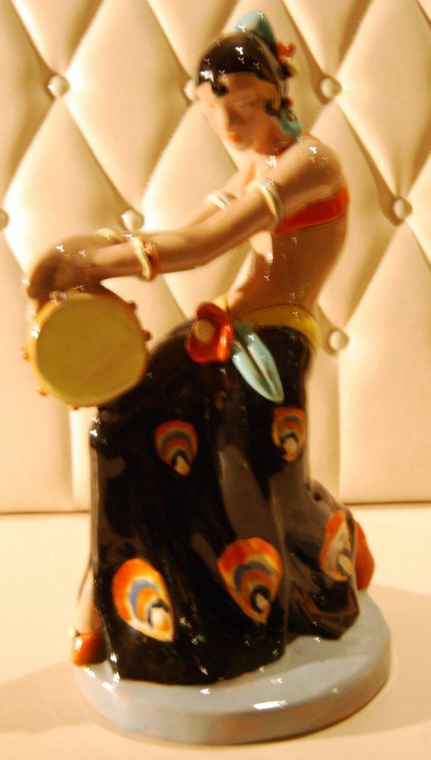 15: Gypsy Girl Ceramic Figurine