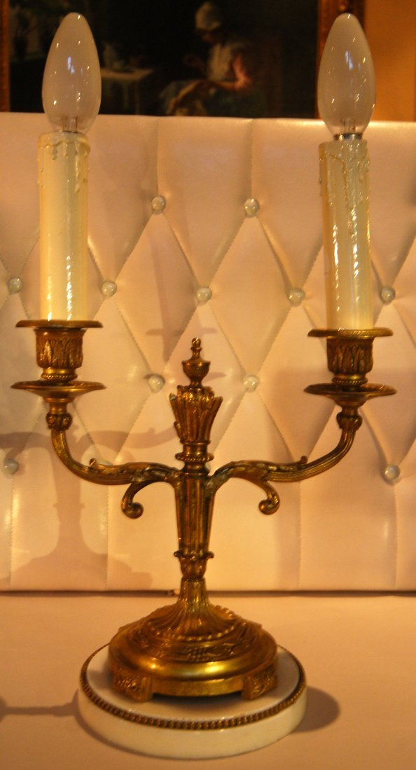 24: Classical Style Candelabra Table Lamp