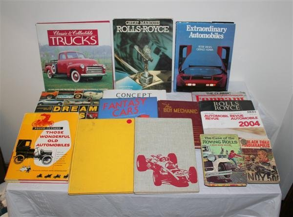 3: Collection of Hardcover Automotive Books
