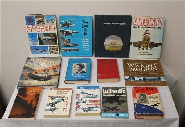 4: Collection of Aviation Books