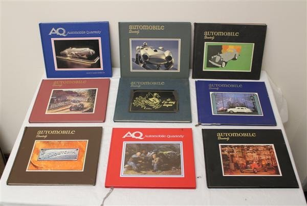 6: Automobile Quarterly Hardcover Magazine Collection