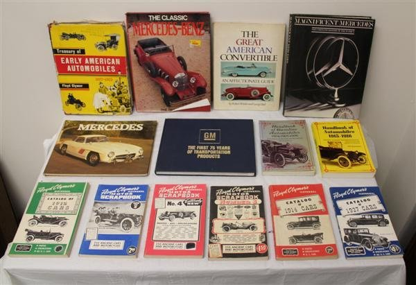 7: Collection of Automotive Books