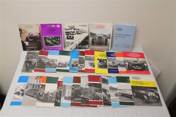 9: Collection of Automobile Club Publications Lagonda