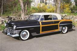 116 1950 Chrysler Town  Country Coupe