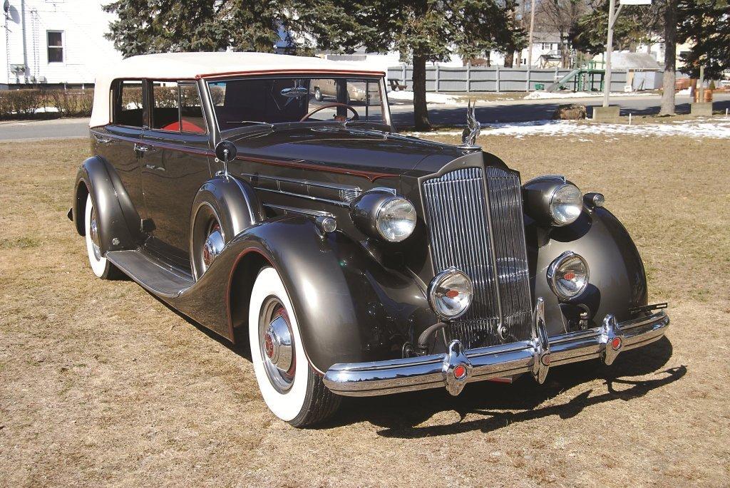119: 1937 Packard Model 1508 Convertible Sedan