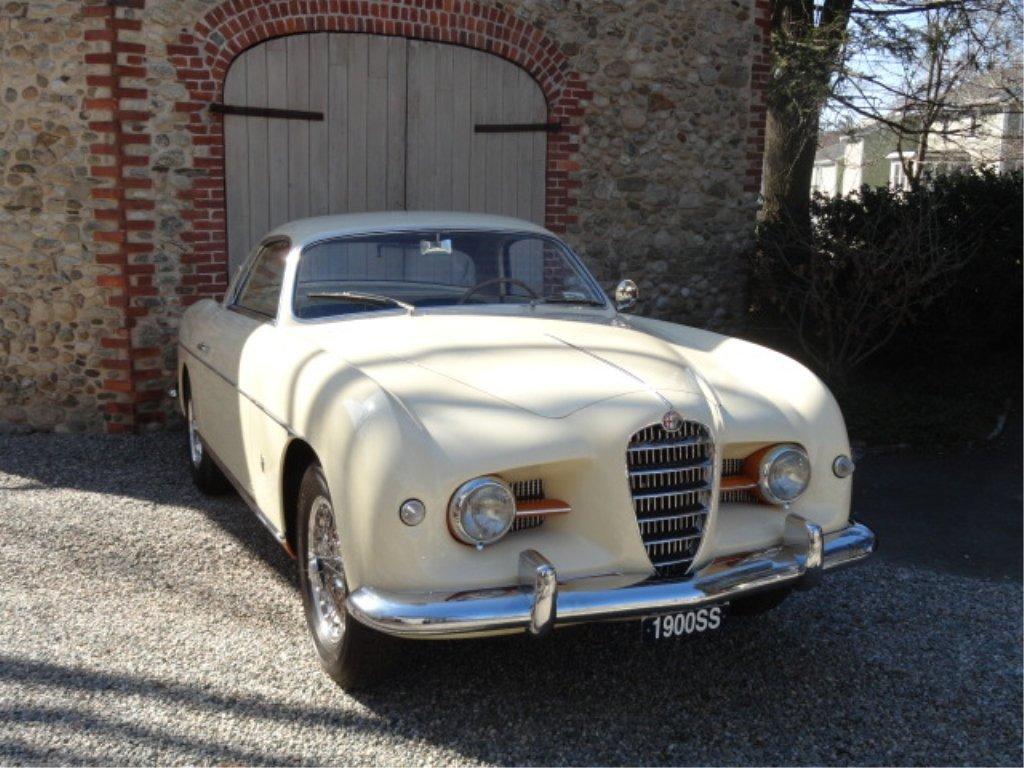 128: 1954 Alfa Romeo 1900 CS Ghia Coupe