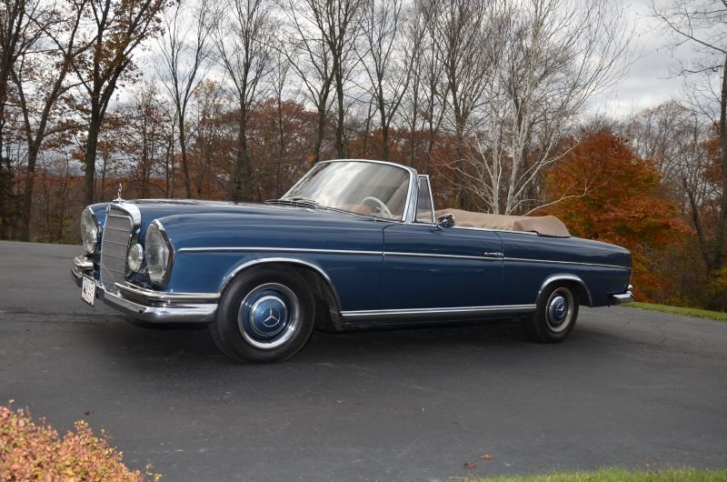 1966 Mercedes Benz 300 SE Convertible