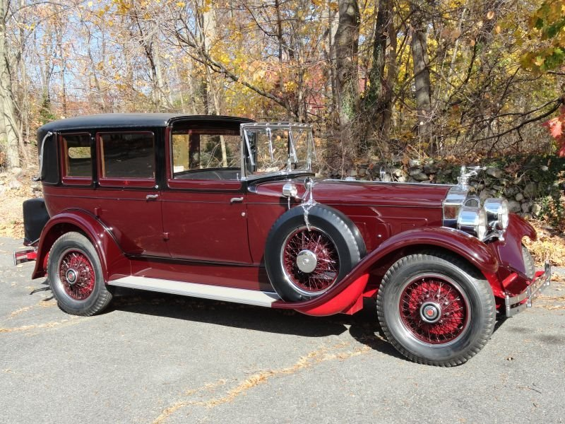 1928 Packard 443 Towncar by Rollston